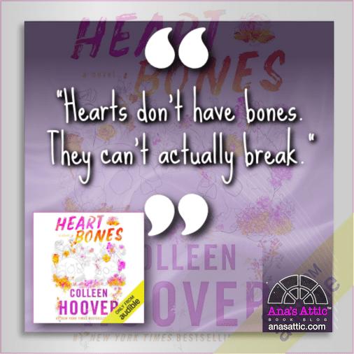 Heart Bones by Colleen Hoover quote